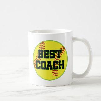 Softball Coach Gift (Best) Coffee Mug