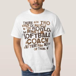 Softball Coach Gift Tee Shirt