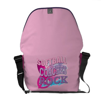 Softball Coach Gifts Courier Bag