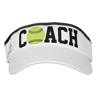 Visors - Softball Coach Visor