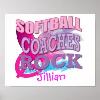 Softball Coaches Gifts Print