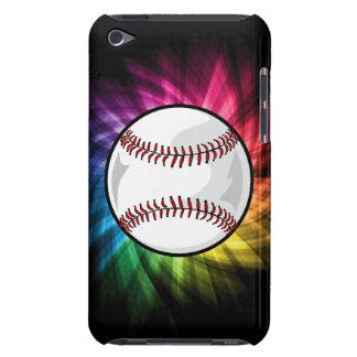 Softball colorido; Béisbol iPod Touch Case-Mate Cobertura