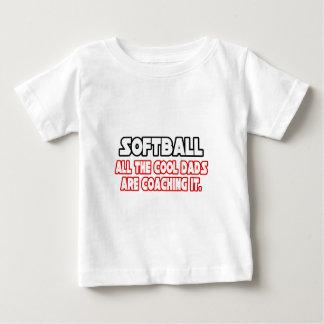 Softball...Cool Dads Baby T-Shirt