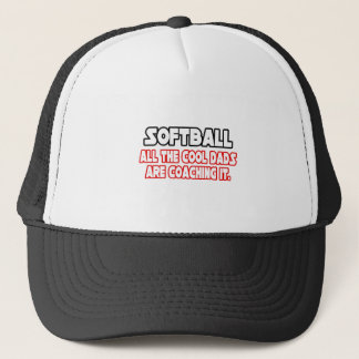 Softball...Cool Dads Trucker Hat