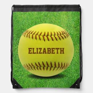 Softball Custom Ball Backpack