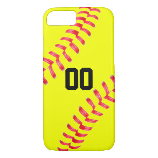 Softball Custom iPhone 7 Case Cover