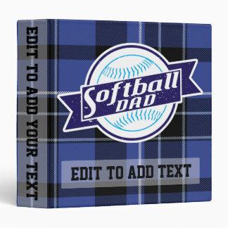 Softball Dad Customizable Binder Album