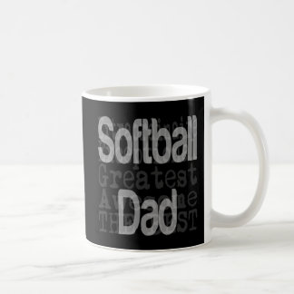 Softball Dad Extraordinaire Coffee Mug