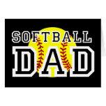 Softball Dad Greeting Card