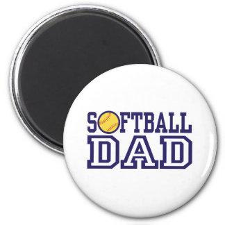 Softball Dad Magnet