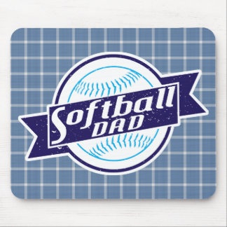 Softball Dad Mousemat Mouse Pad