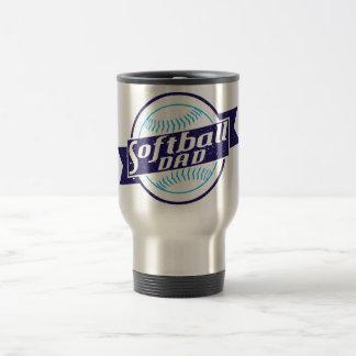 Softball Dad Coffee Mug