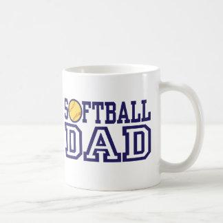 Softball Dad Coffee Mugs