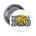 Softball Dad Pin