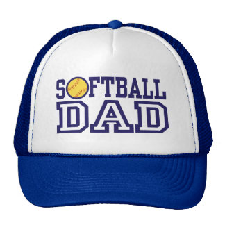Softball Dad Trucker Hat