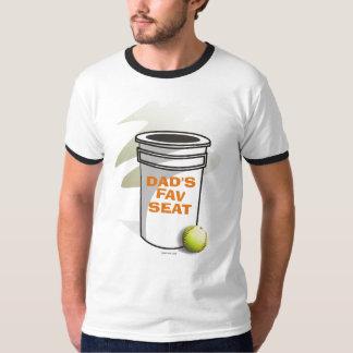 Softball Dads Fav Seat T-Shirt