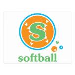 Softball de Allaire Tarjeta Postal