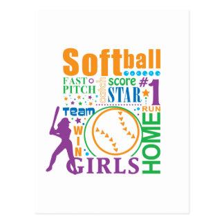 Softball de Bourne Tarjetas Postales