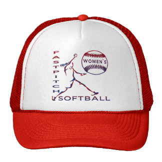 Softball de Fastpitch de las mujeres Gorra