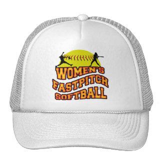 Softball de Fastpitch de las mujeres Gorro De Camionero