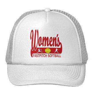Softball de Fastpitch de las mujeres Gorras De Camionero