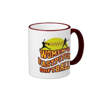 Softball de Fastpitch de las mujeres Tazas