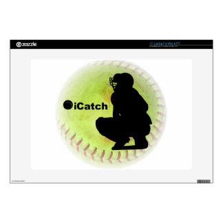 softball de Fastpitch del iCatch Skins Para Portátiles