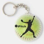 softball de Fastpitch del iPitch Llavero