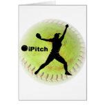 softball de Fastpitch del iPitch Tarjetón