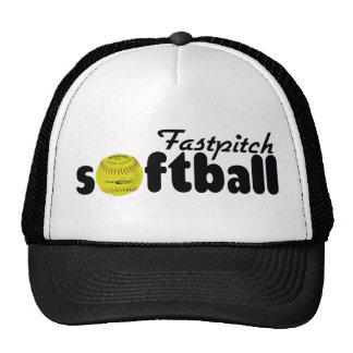Softball de Fastpitch Gorras