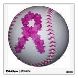 Softball de la conciencia del cáncer de pecho