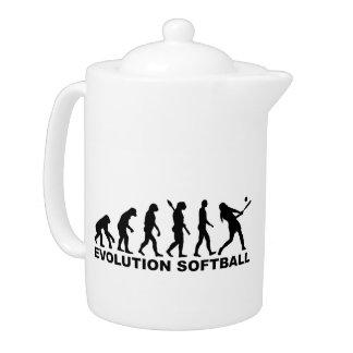 Softball de la evolución