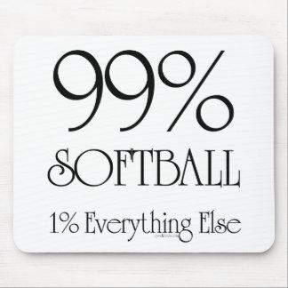 Softball del 99% alfombrilla de raton