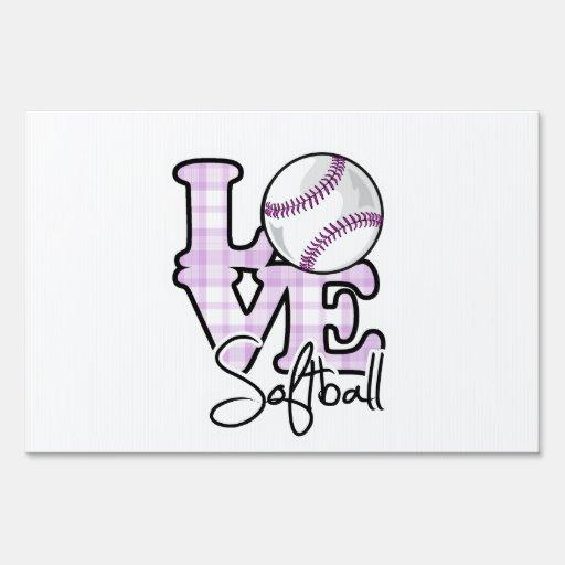 Softball del amor carteles