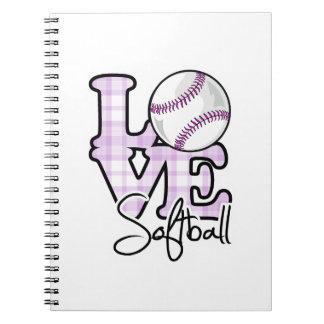 Softball del amor libros de apuntes