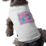 Softball del puerto del caracol camiseta de perrito
