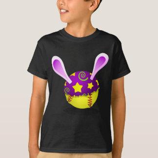 Softball Egg Bunny T-Shirt