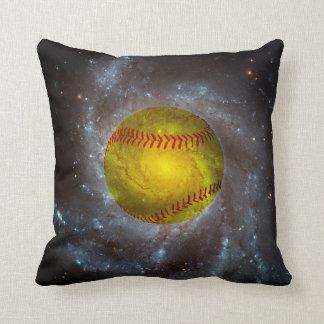 Softball en almohada de tiro única del softball cojín decorativo