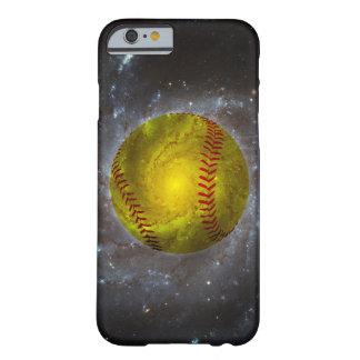 Softball en caso único del iPhone 6 del softball Funda Para iPhone 6 Barely There