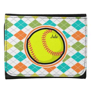Softball en el modelo colorido de Argyle