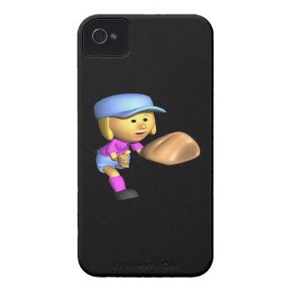 Softball Fielder iPhone 4 Case