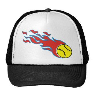 Softball fireball hats