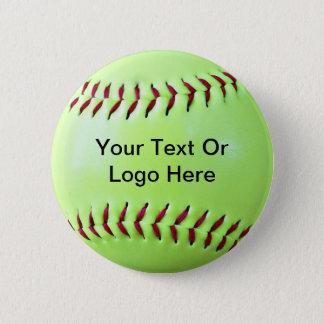 Softball Fundraising Magnet, Keychain, Button