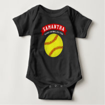 Softball Future All-Star Baby Bodysuit