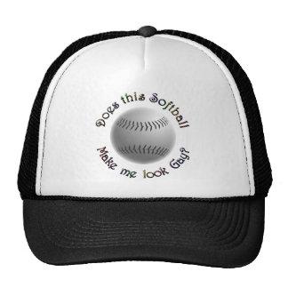 Softball gay gorros bordados
