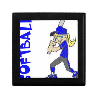 SOFTBALL GIRL BAT GIFT BOX