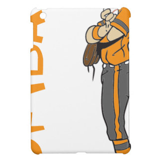 SOFTBALL GIRL PITCHER TEXT COVER FOR THE iPad MINI