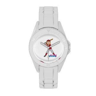 Softball Girl Wristwatch