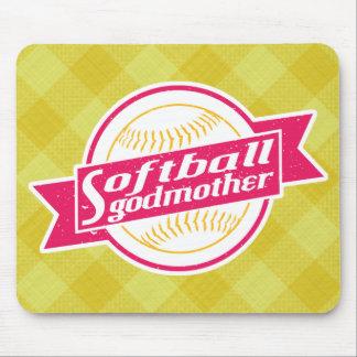 Softball Godmother Mousemat Mouse Pad
