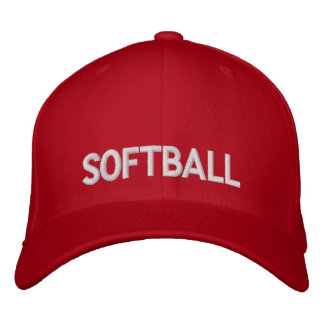 Softball Gorras Bordadas